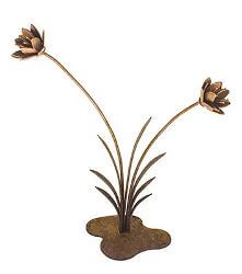Flower Reed Garden sculpture - Small