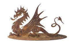 Dragon Metal Garden Art Sculpture