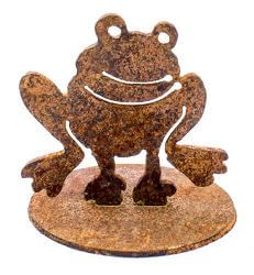 Frog Metal Garden Art Sculpture
