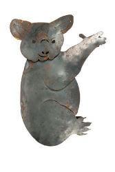 Koala Garden sculpure - steel