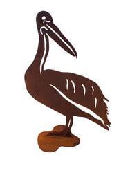 Large Pelican Stand Garden Art