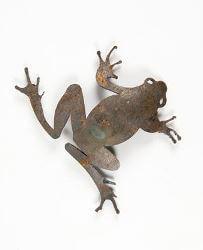 Hopping Frog Magnet Garden Art