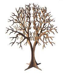 Round Tree Metal Garden Art Sculpture
