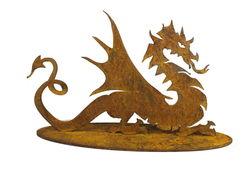 Small Dragon Stand Garden Art