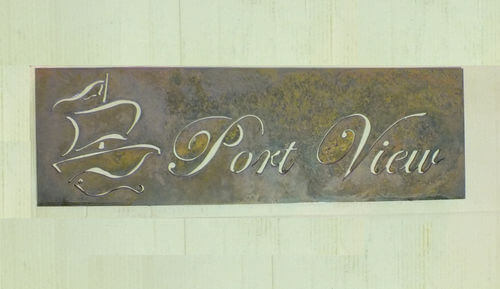 Wrought Iron Signage Sign Posts Amp Welcome Signs