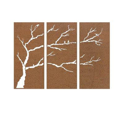 3 Bird Branch Screens