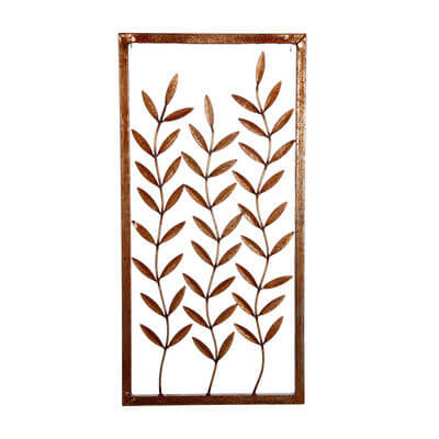 Metal Wall art by Overwrought - 3 Branches Wall Art