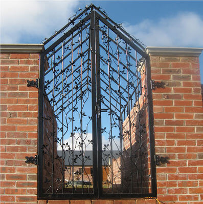 Wrought Iron Gate - Apple Gate