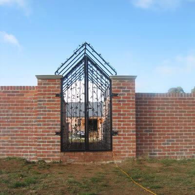 Wrought Iron Gate - Apple Gate