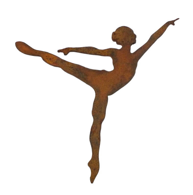 Ballet Dancer 5 Magnet Garden Art