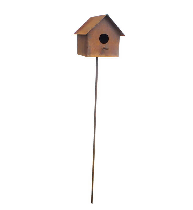 Bird House Garden Art