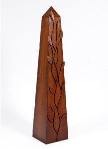 Unique Steel Garden Sculpture by Overwrought -  Branch Obelisk