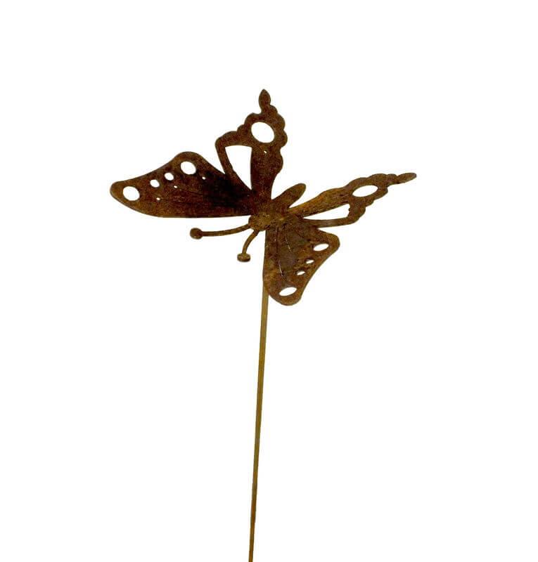 Butterfly Garden Stake 3 Garden Art