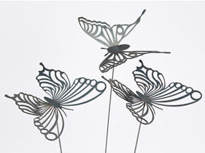 Garden stakes By Overwrought - Butterfly Garden Stake One