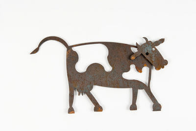 Magnetic creatures by Overwrought- Cow