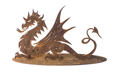 Dragon Metal Garden Art Sculpture