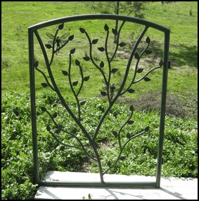 Wrought Iron Gate by Overwrought -  Fairy Gate