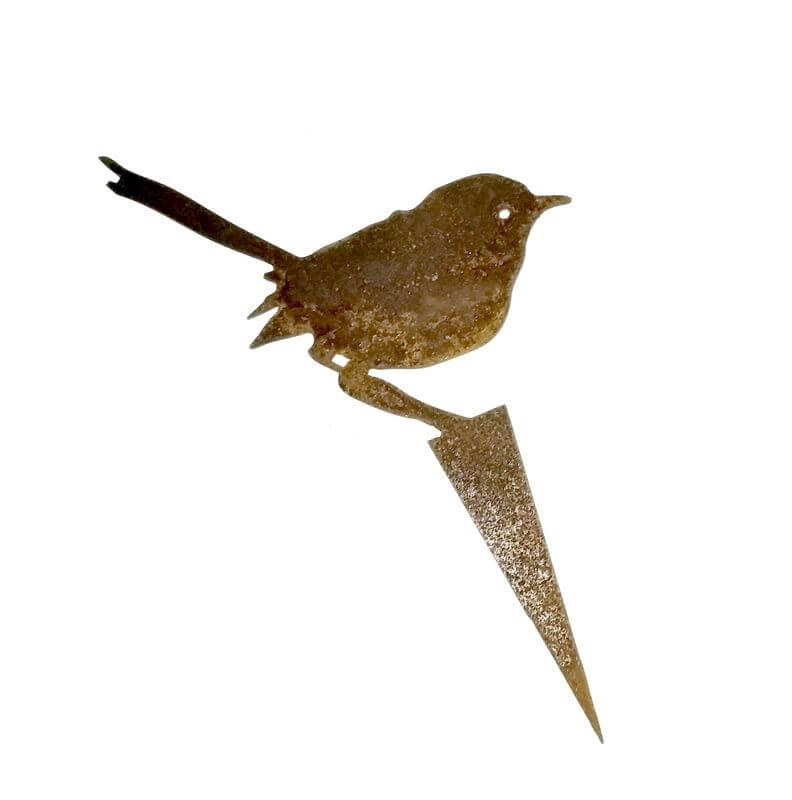 Fairy wren stake 2