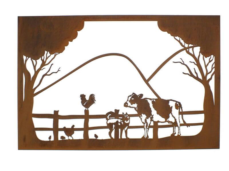 Farm Scene Wall Art