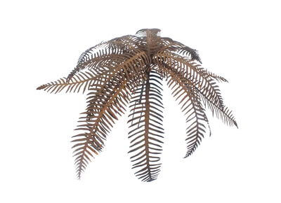 Fern Garden Art Sculpture