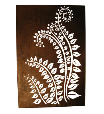 Metal Wall art by Overwrought - Fronds Box Wall Art