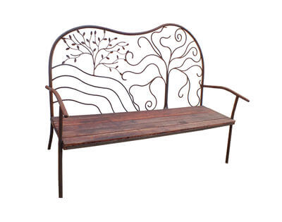 Garden Bench three