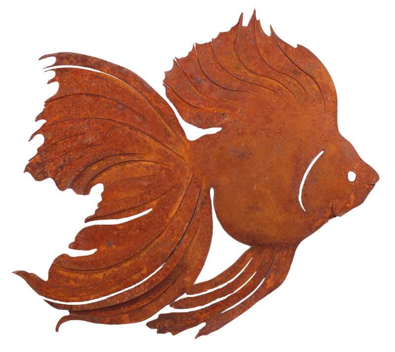 Goldfish Magnet Garden Art