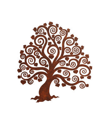 Unique Australian made  wall Art - Heart Tree Wall art
