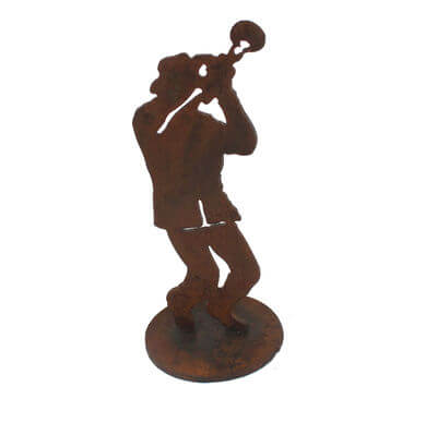 Jazz Trombone Player  Musician on stand