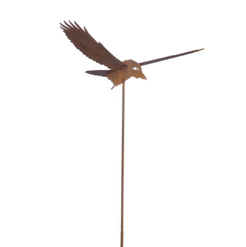Kookaburra Flying Stake Garden Art