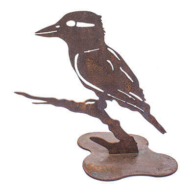 Kookaburra Metal Garden Art Sculpture