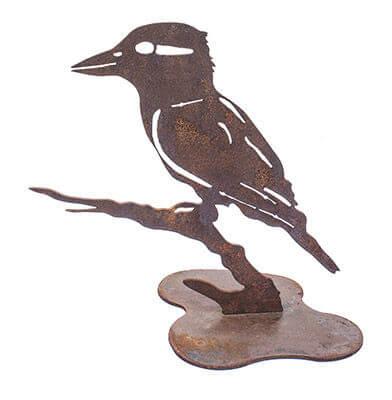 Kookaburra Metal Garden Art Sculpture