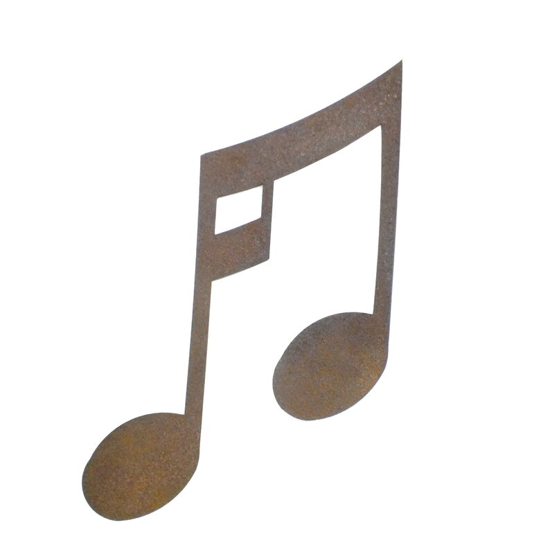Large Music Note Magnet Garden Art