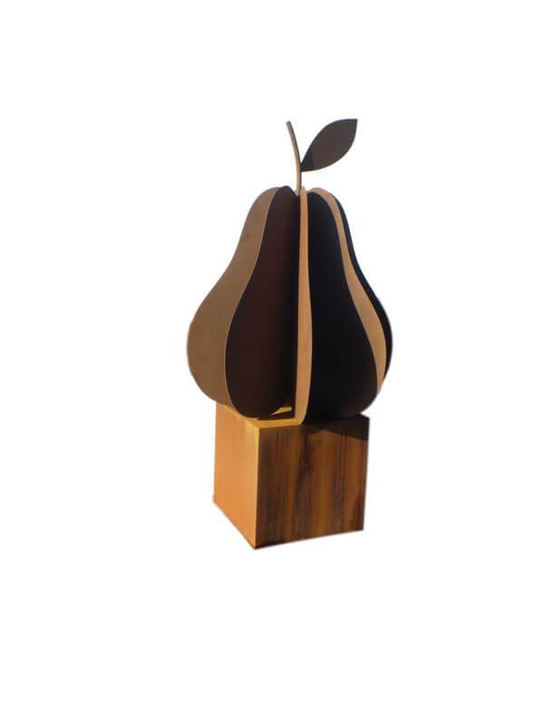Large Pear Sculpture