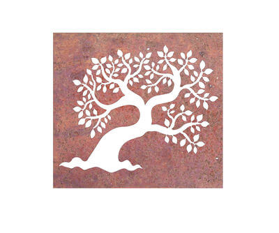 Leaf Tree Box Wall art