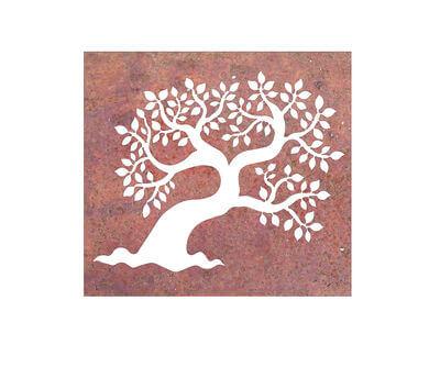 Leaf Tree Box Wall art