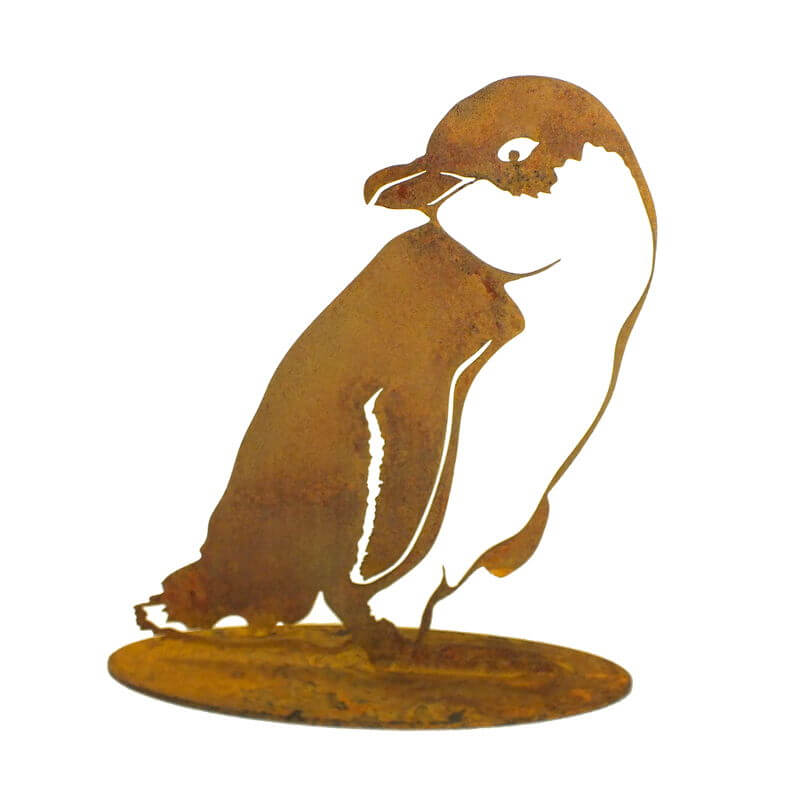 Little Penquin One Stand Garden Art