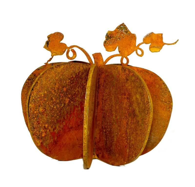 Large Pumpkin Garden Art | Overwrought