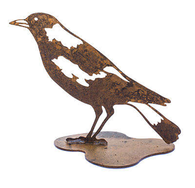 Magpie Metal Garden Art Sculpture