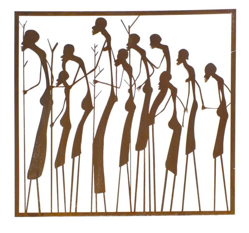 Massai Warriors Wall Art