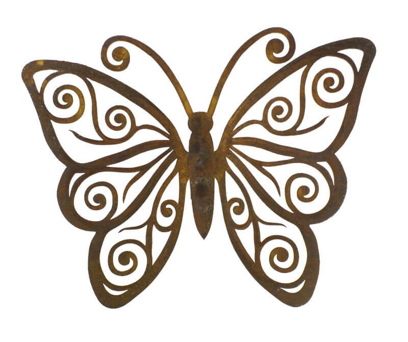 Medium Butterfly Magnet 4 Garden Art