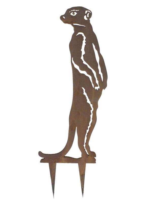 Meercat Stake 2 Garden Art