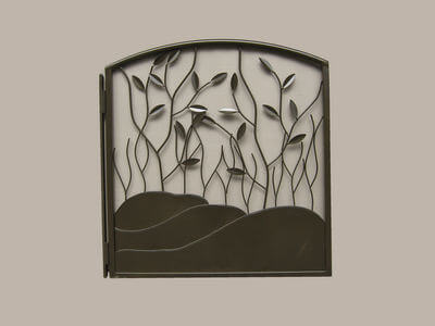 Wrought Iron Gate by Overwrought -  Paw Paw