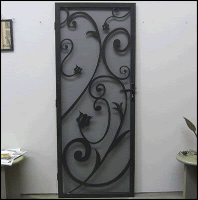 Security Screen Door by Overwrought - Philips Door