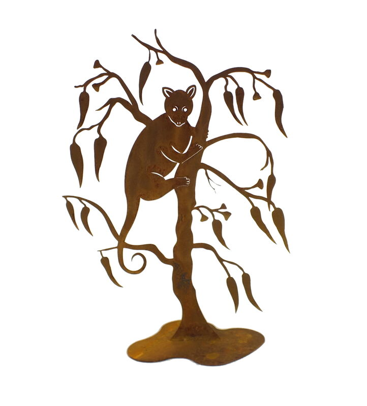 Ringtail Possum Stand Garden Art