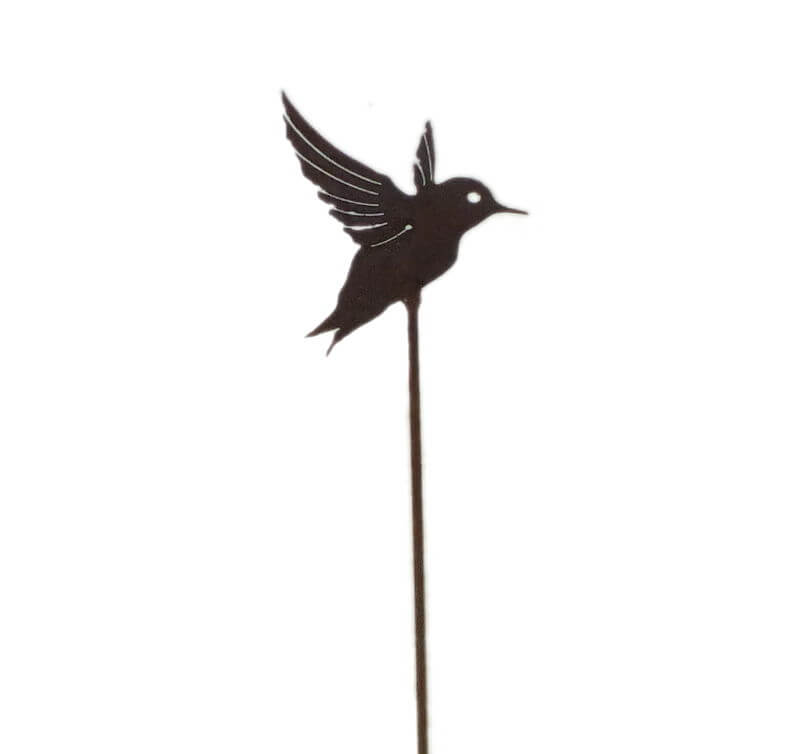 Small Honeyeater Stake Garden Art