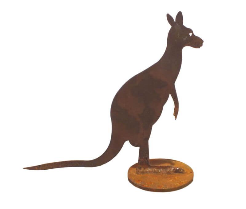 small kangaroo stand
