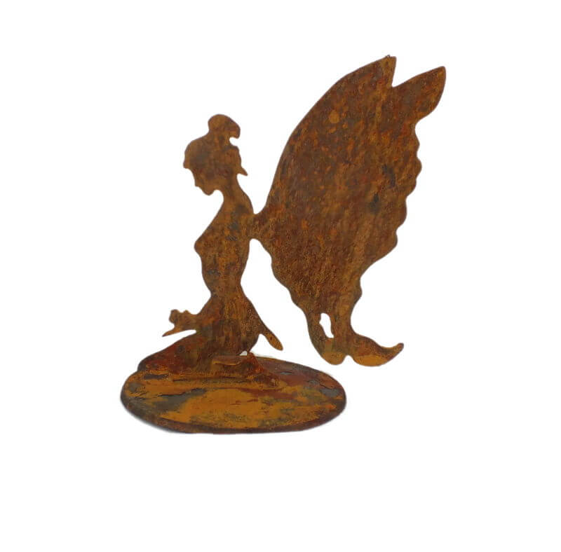 Small Kneeling Fairy Stand