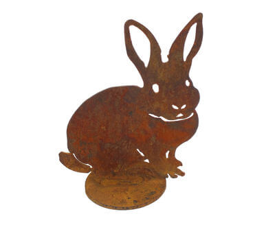 Small Rabbit On Stand
