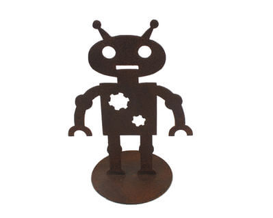 Small Robot on Stand